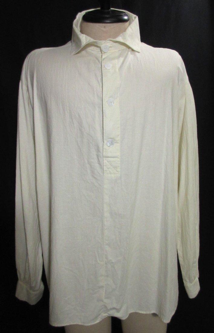 Civil War Reproduction Men's Muslin Shirt