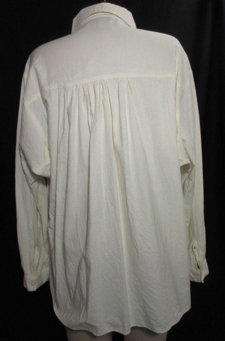 Civil War Reproduction Men's Muslin Shirt - 5