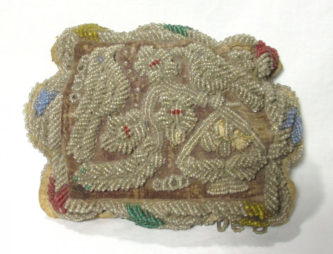 Victorian Elaborate Beaded Pin Cushion