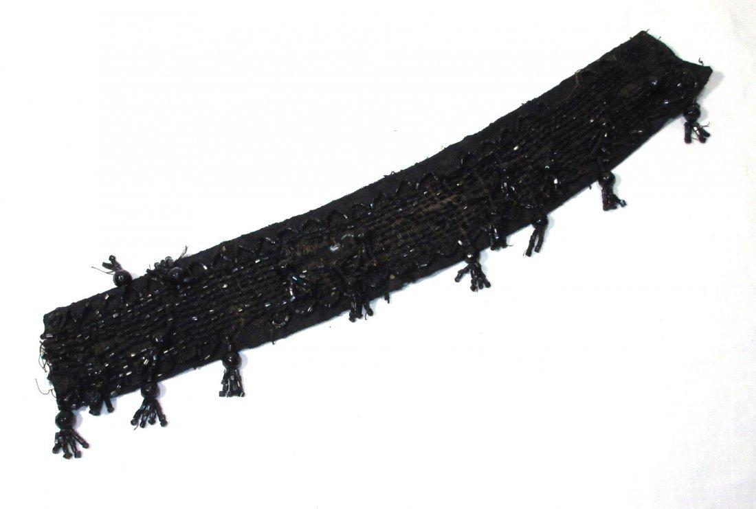 Edwardian Celluloid Collar Box w/ Beaded Collar - 7