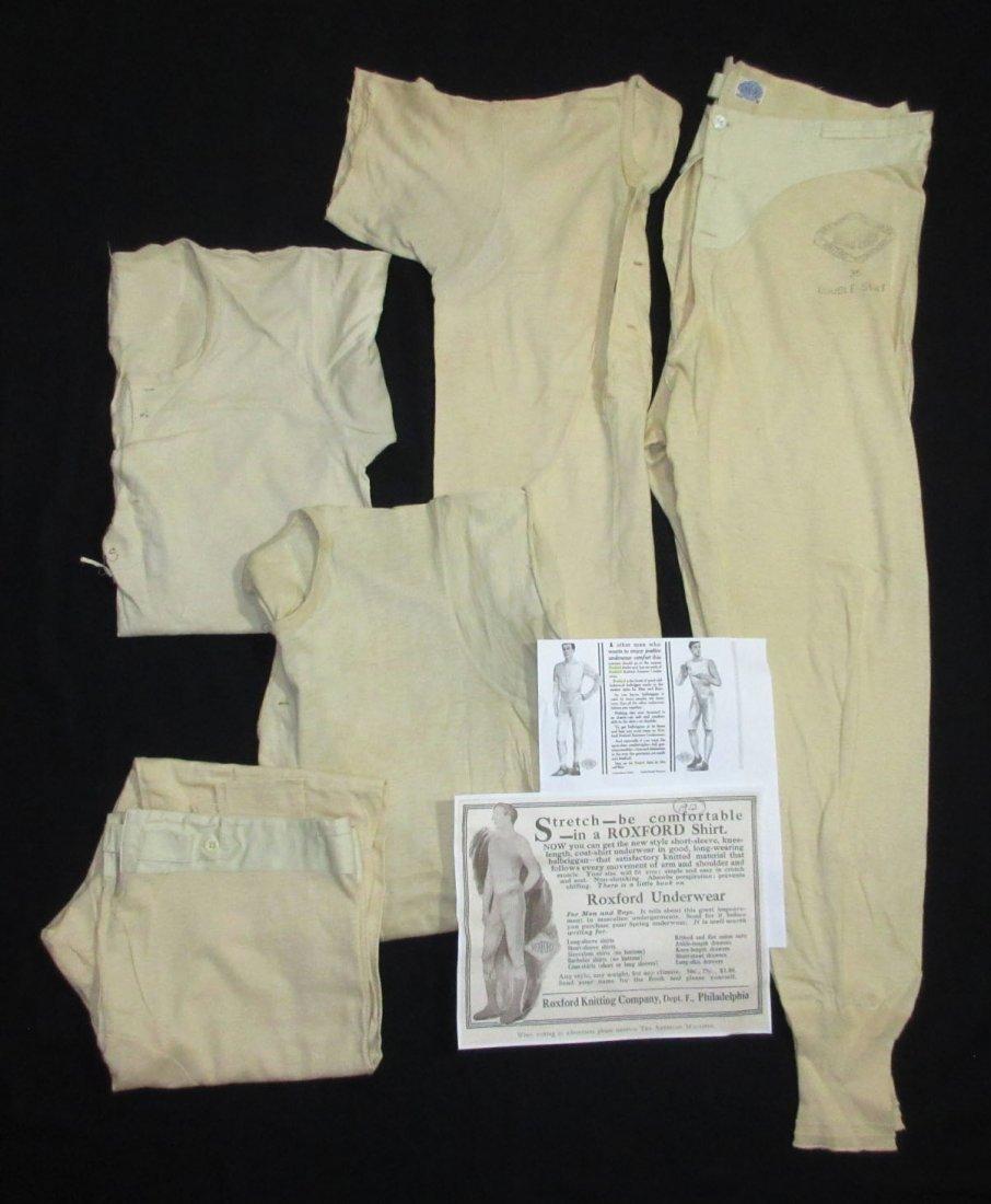 5pc Roxford Men's Knitted 1912  Underwear