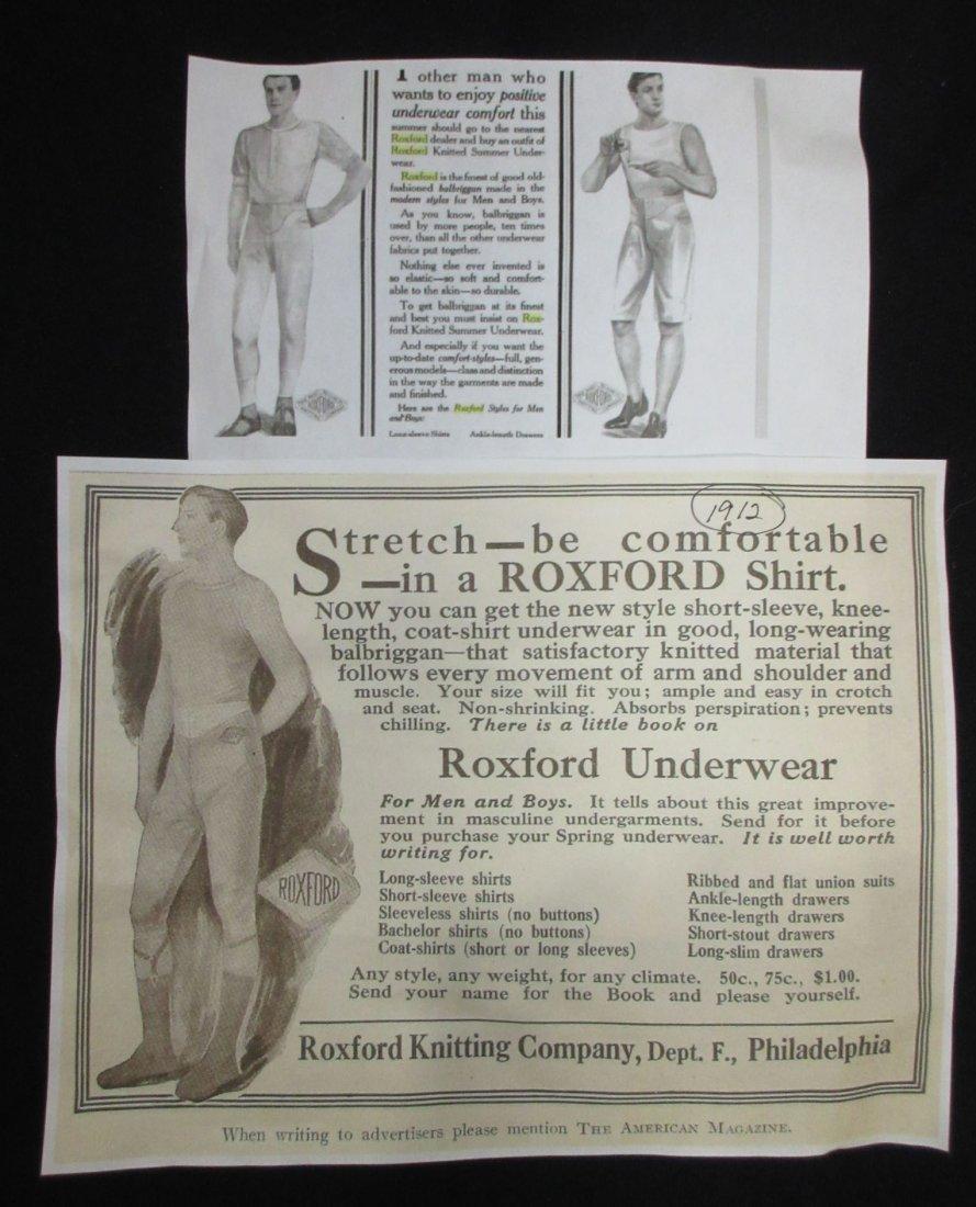 5pc Roxford Men's Knitted 1912  Underwear - 5