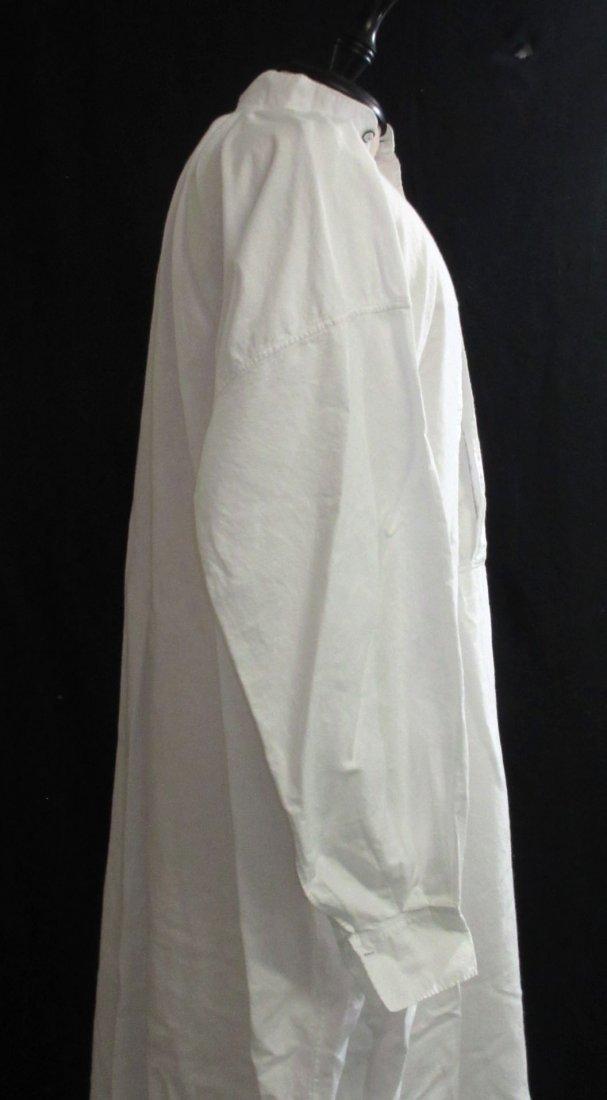 Edwardian Cotton Men's Sleep Dress/Shirt - 4
