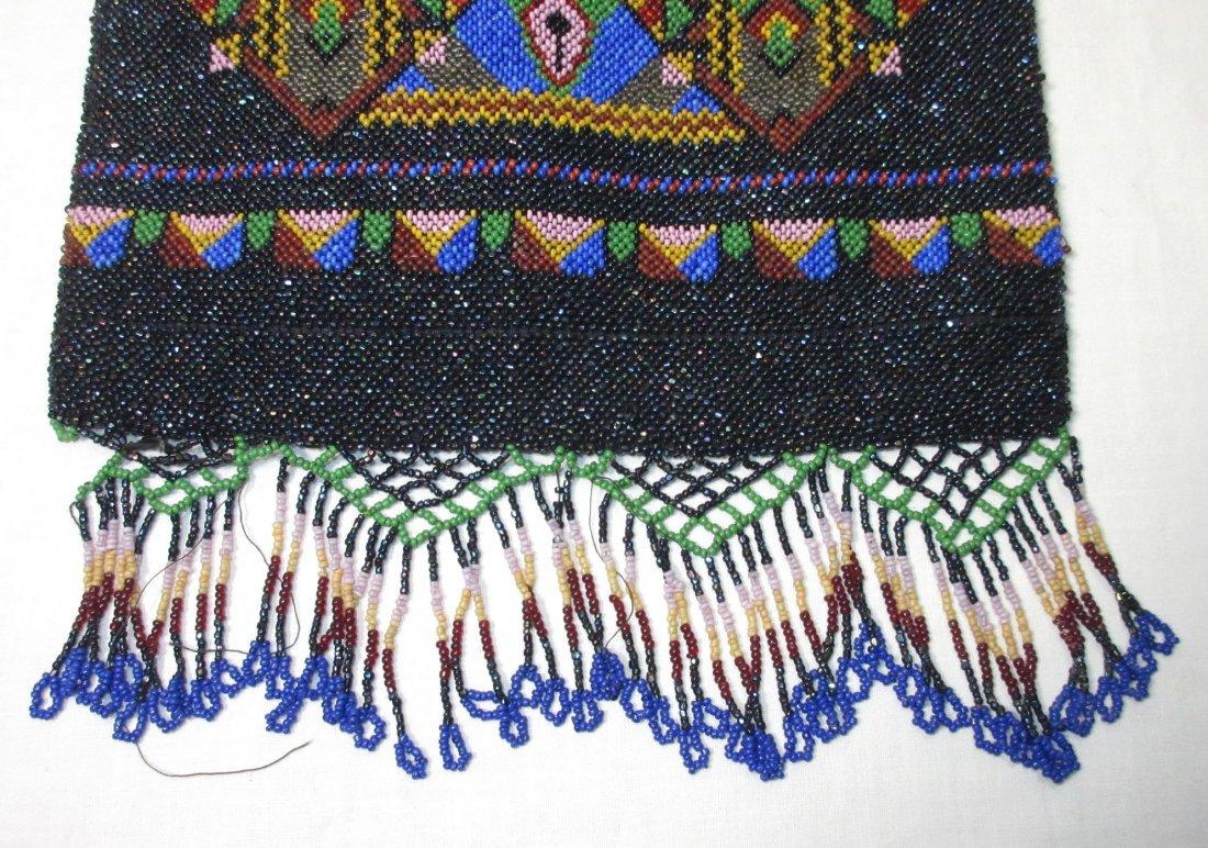 Bohemian Geometric Micro Bead Gls Jeweled Bag - 3