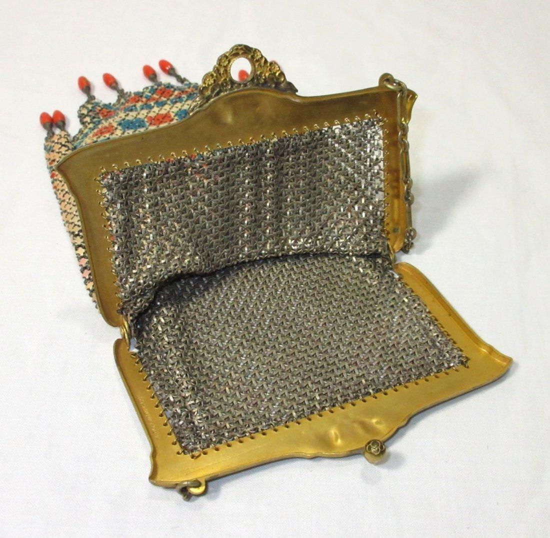 "Mandelain ""Lustro-Pearl"" Enam Armor Mesh Bag - 5"