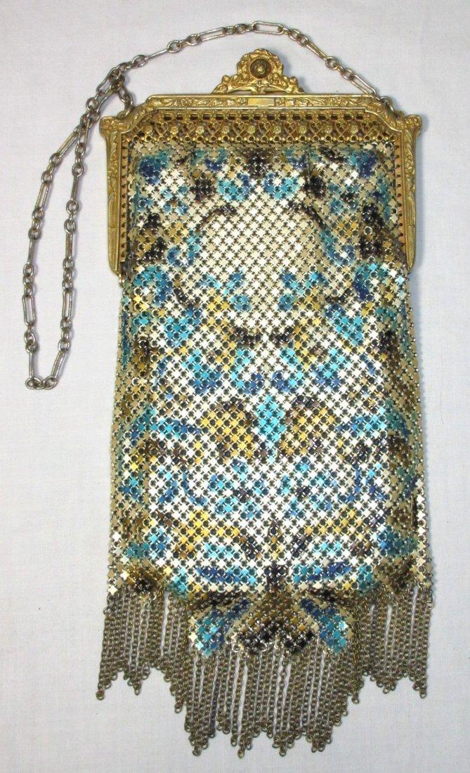 1920s Lovely Mandelain Royal Splendor Filigree Fr Bag