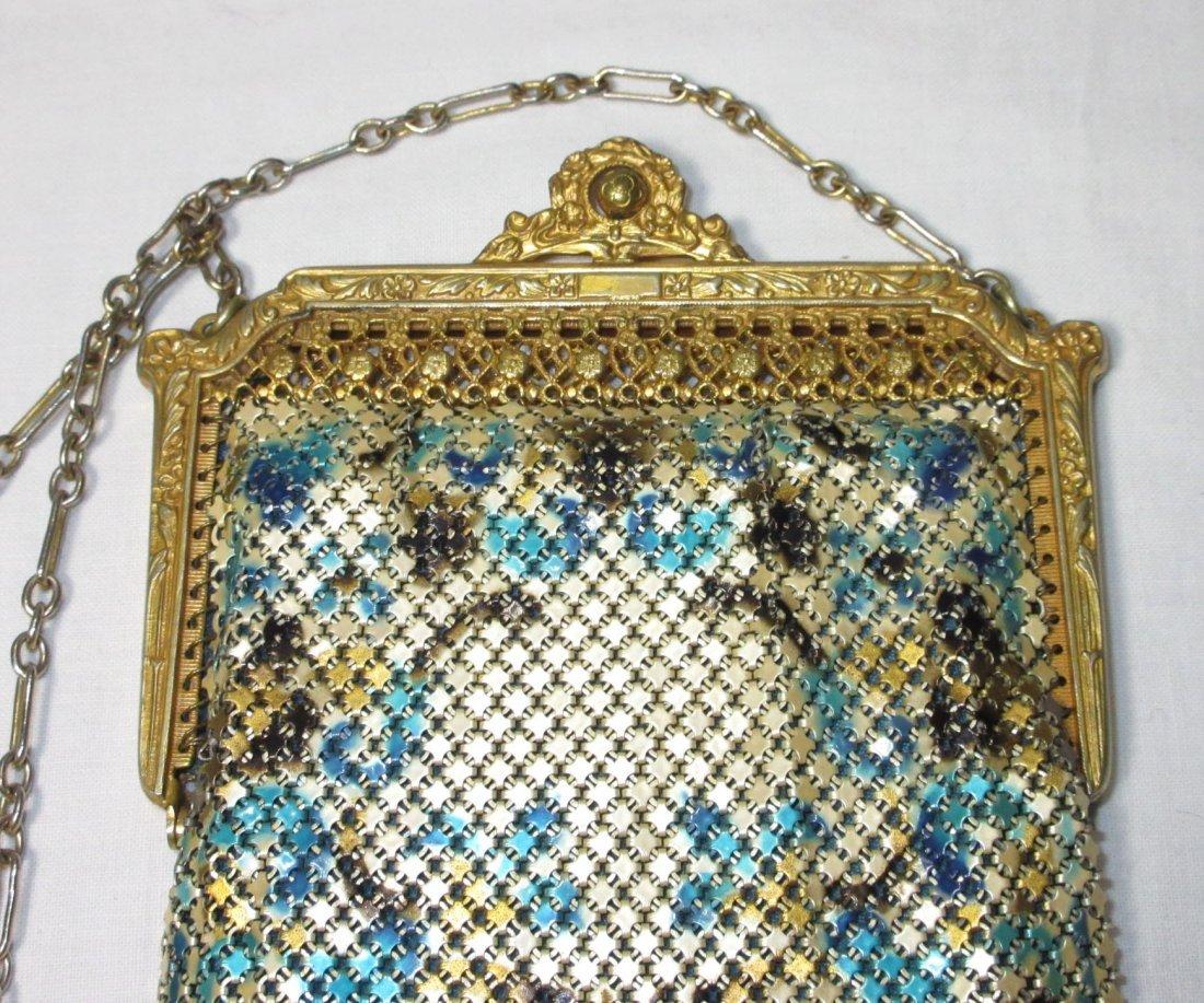 1920s Lovely Mandelain Royal Splendor Filigree Fr Bag - 2