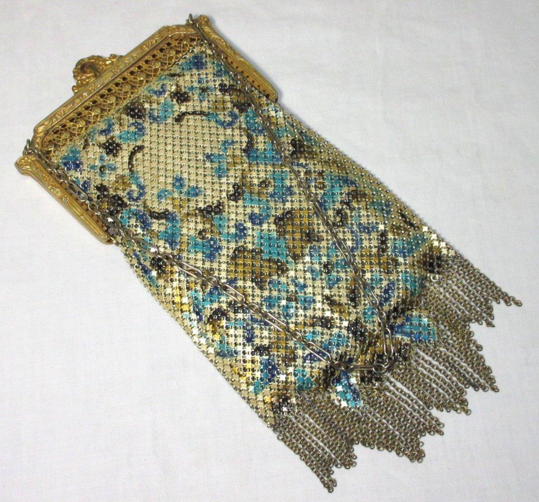 1920s Lovely Mandelain Royal Splendor Filigree Fr Bag - 4