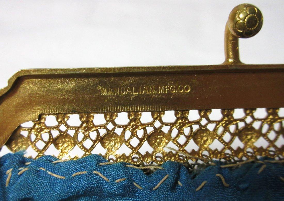 1920s Lovely Mandelain Royal Splendor Filigree Fr Bag - 6