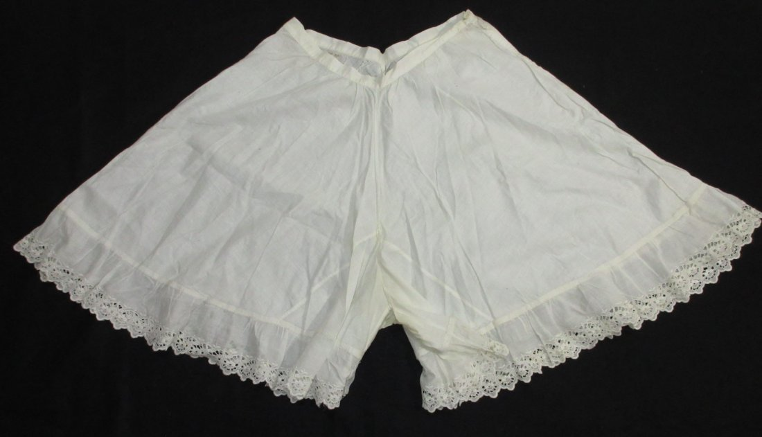 2 pc 1920's Combination Underwear & Pantaloons - 2