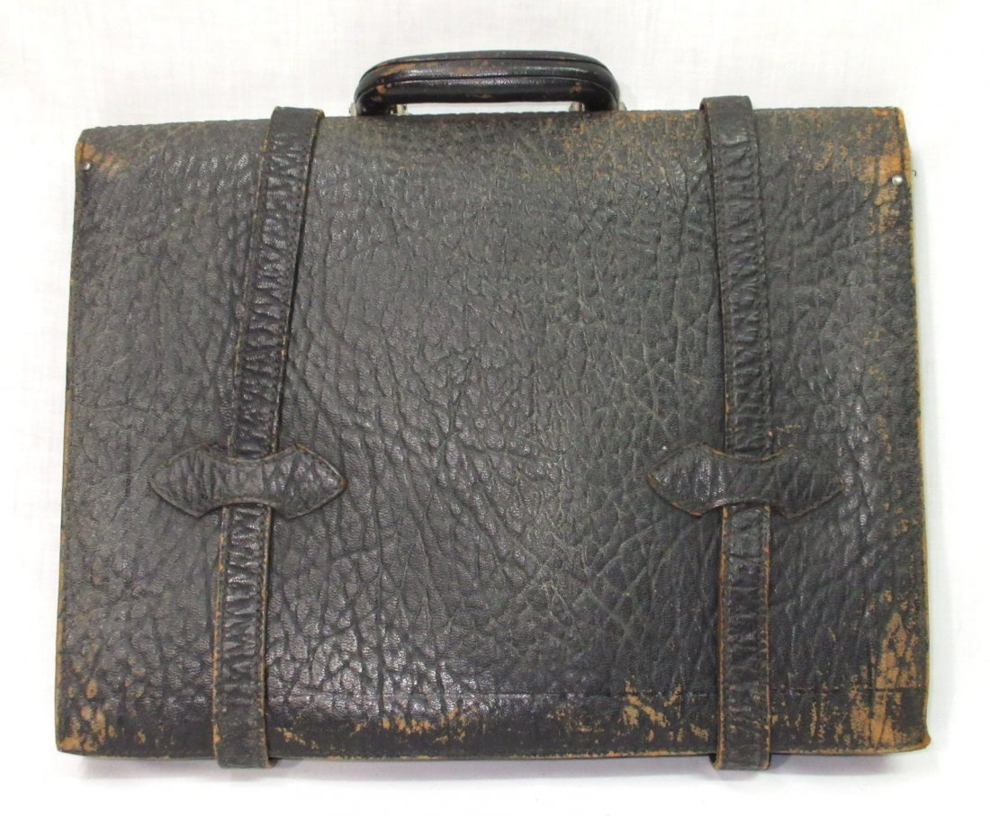 Great 1920's Leather Men's Brief Case - 3
