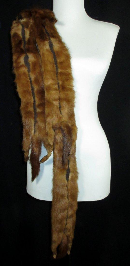 Authentic (4) Mink Stole - 6