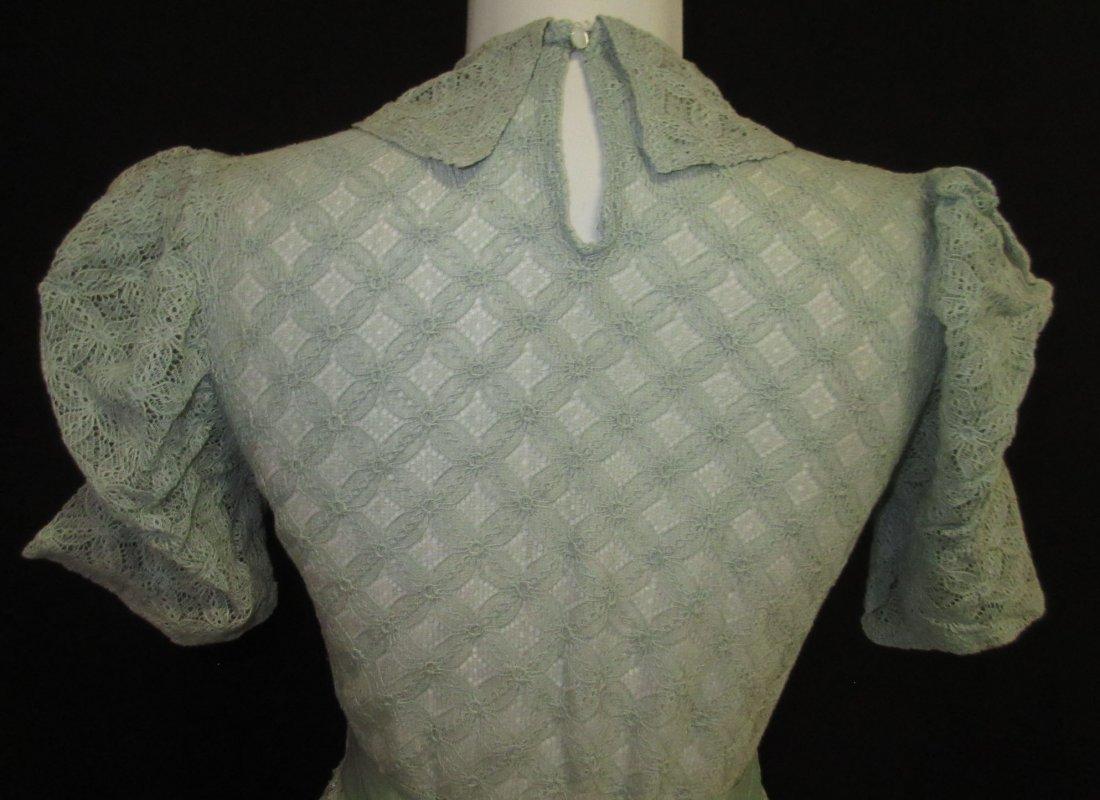 Cute Cookie Frock 1pc. Lace Peplum 30's Dress - 6