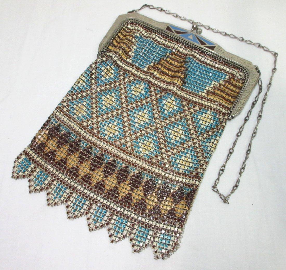 Great Whiting/Davis Enameled Bag In Original Box