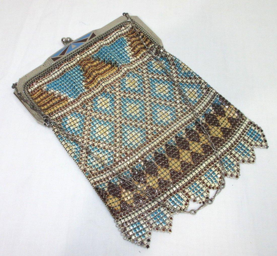 Great Whiting/Davis Enameled Bag In Original Box - 2