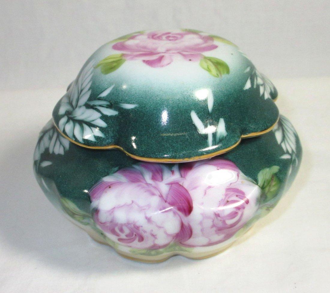 5 Pc. Limoges Floral Dresser Set - 10