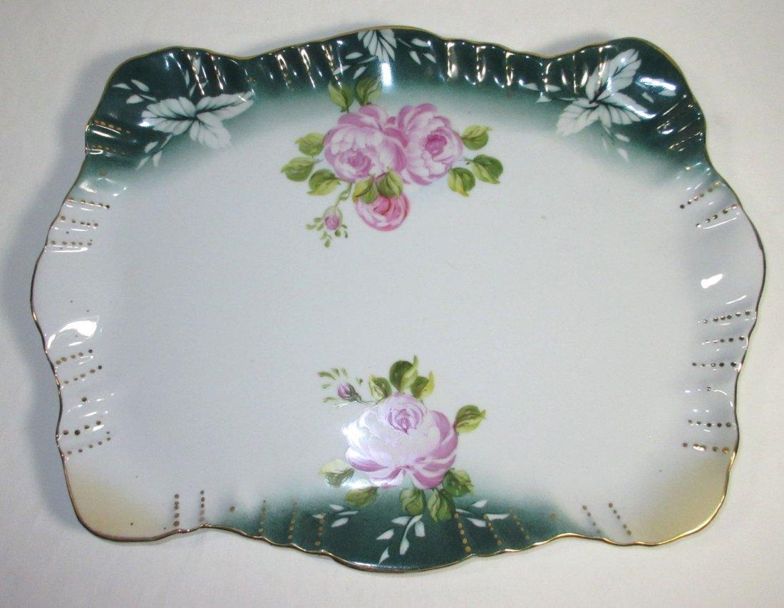 5 Pc. Limoges Floral Dresser Set - 2