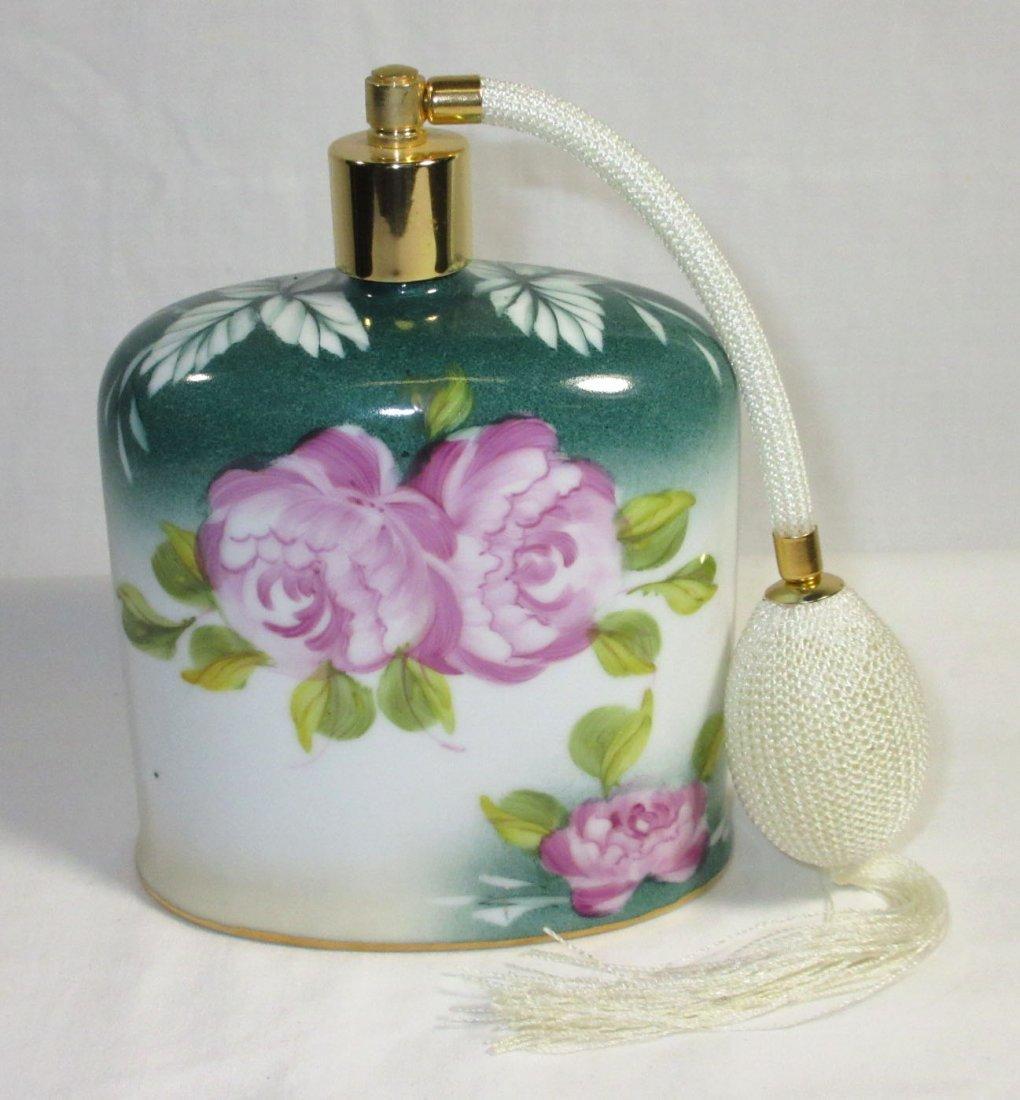 5 Pc. Limoges Floral Dresser Set - 7