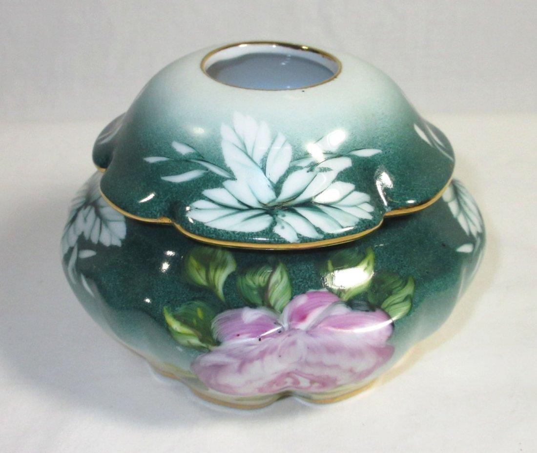5 Pc. Limoges Floral Dresser Set - 8