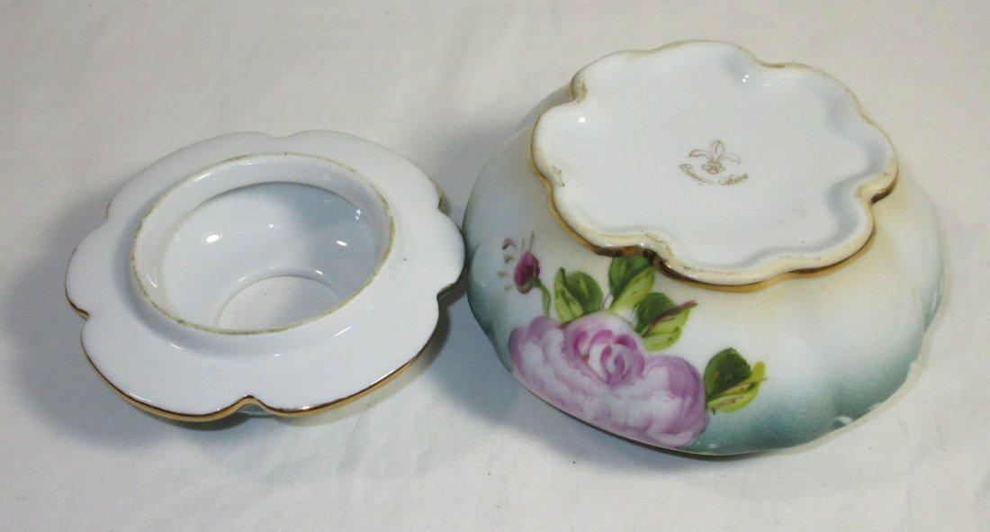 5 Pc. Limoges Floral Dresser Set - 9