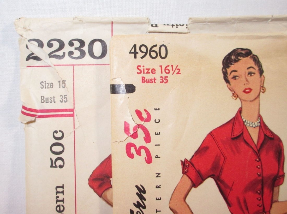 After 5 Classic 50's Dress Patterns, Bust 35 - 2