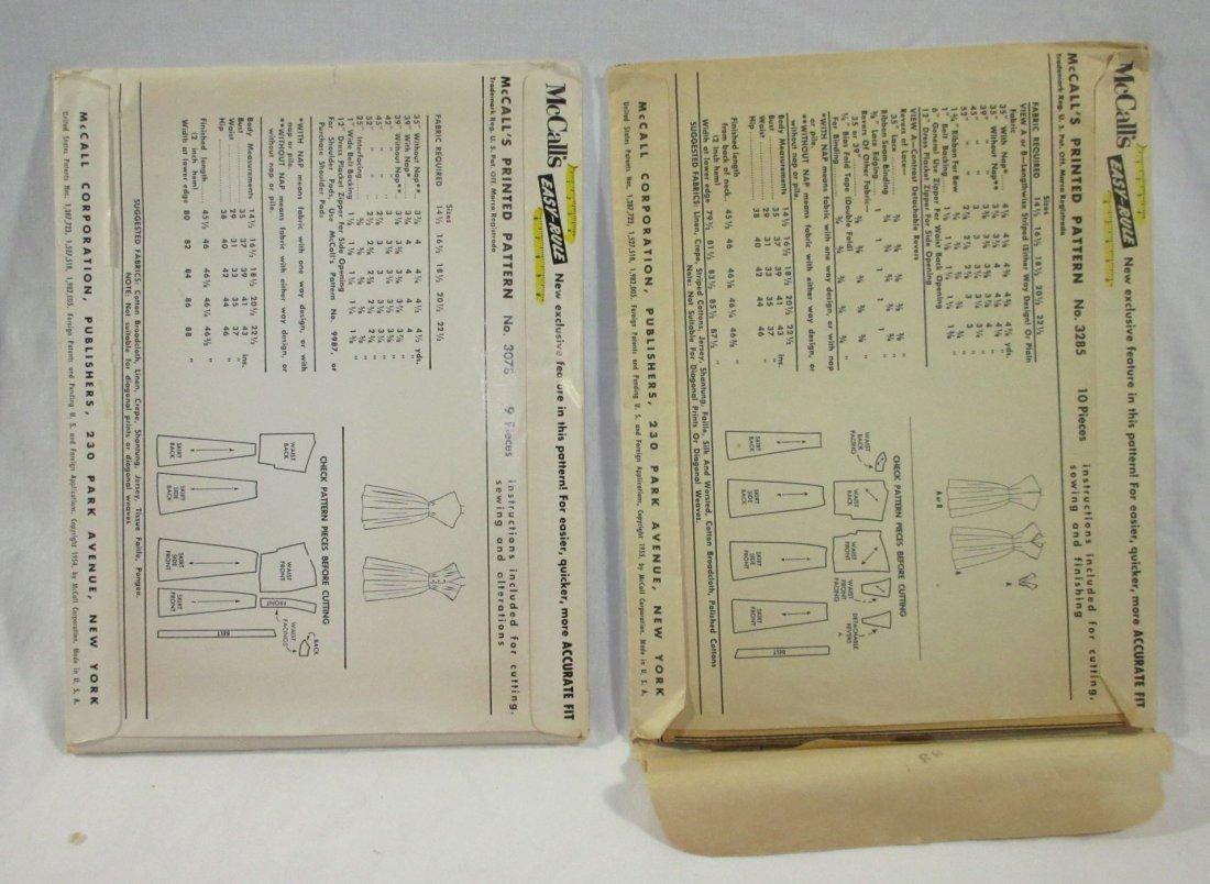 1950's Half Size Dress Patterns. Bust 37 - 3