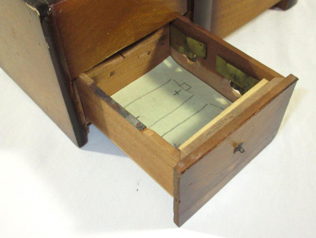 Unique Ornate Cigarette Music Wooden Owl Box - 6