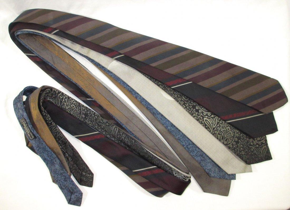 100% Silk 1950's - 6pc Men's Ties