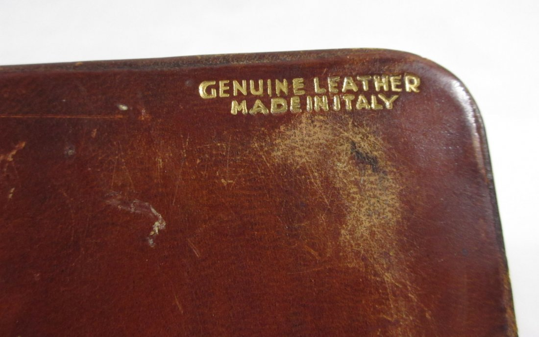 Great Leather Men's Box w/ 2 Cuff Link Sets - 7