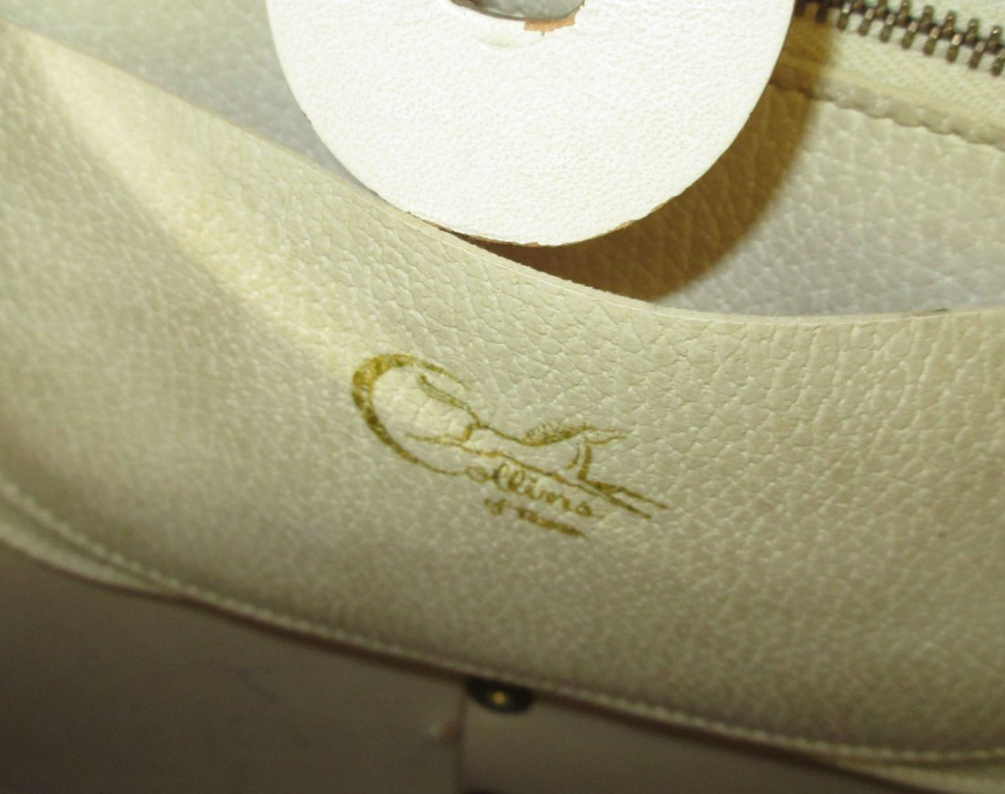 1960's Enid Collins Cable Car Jeweled Canvas Bag - 7