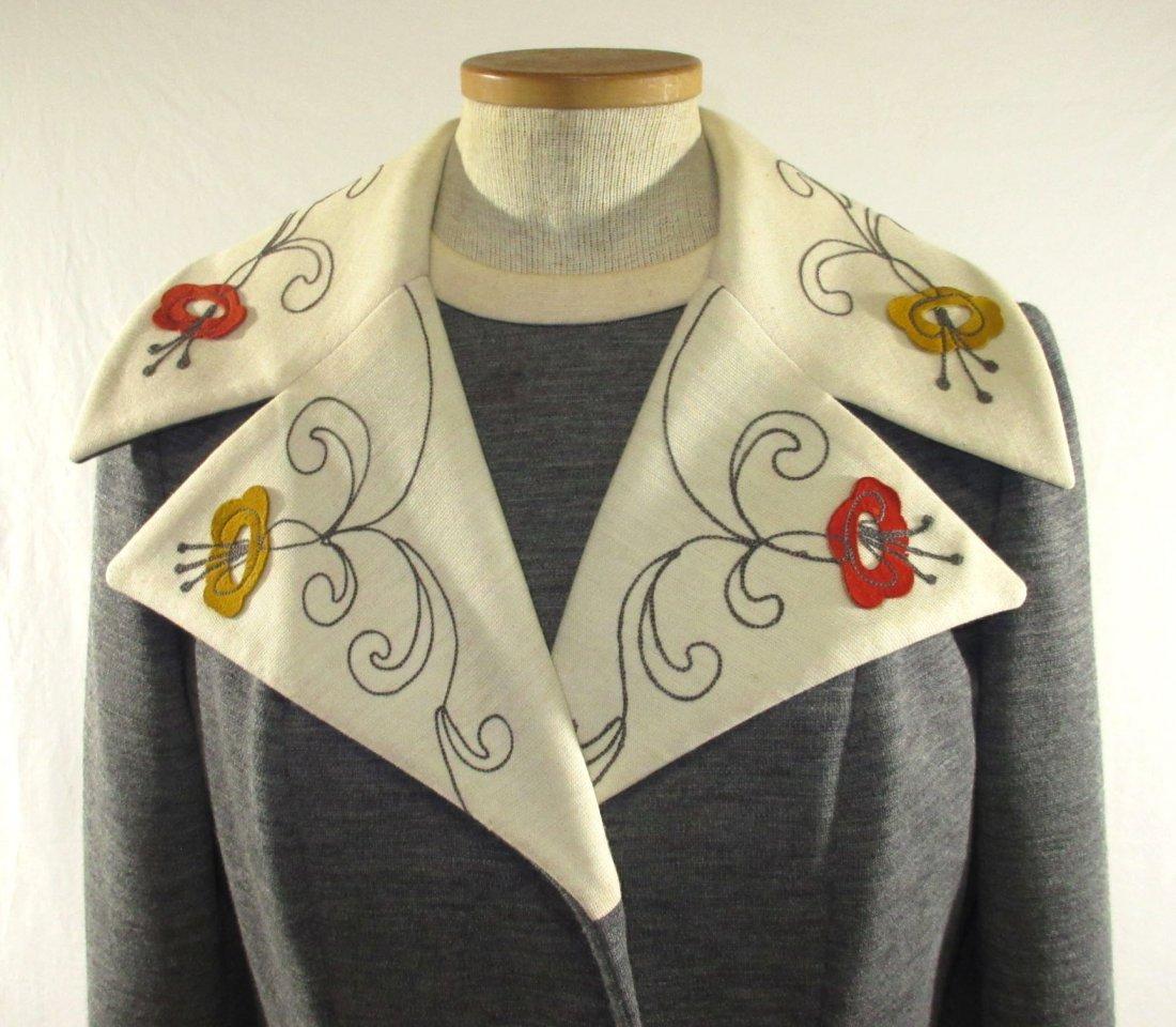 60's Lilli Ann Knits 2pc Coat Dress - 2