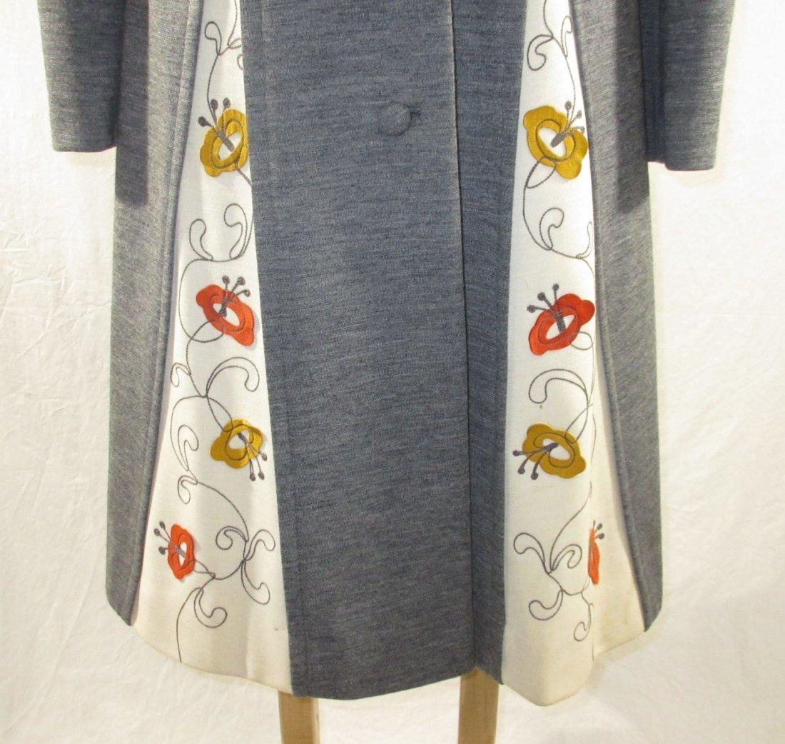 60's Lilli Ann Knits 2pc Coat Dress - 3