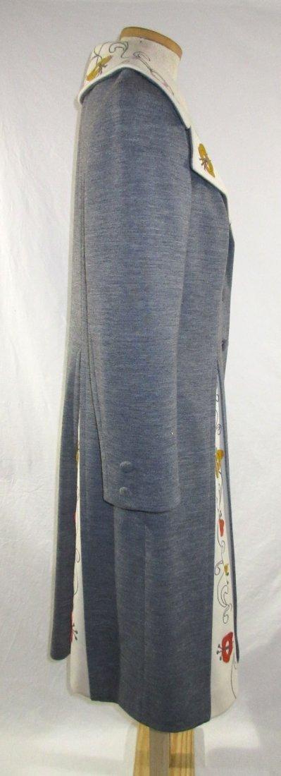 60's Lilli Ann Knits 2pc Coat Dress - 4