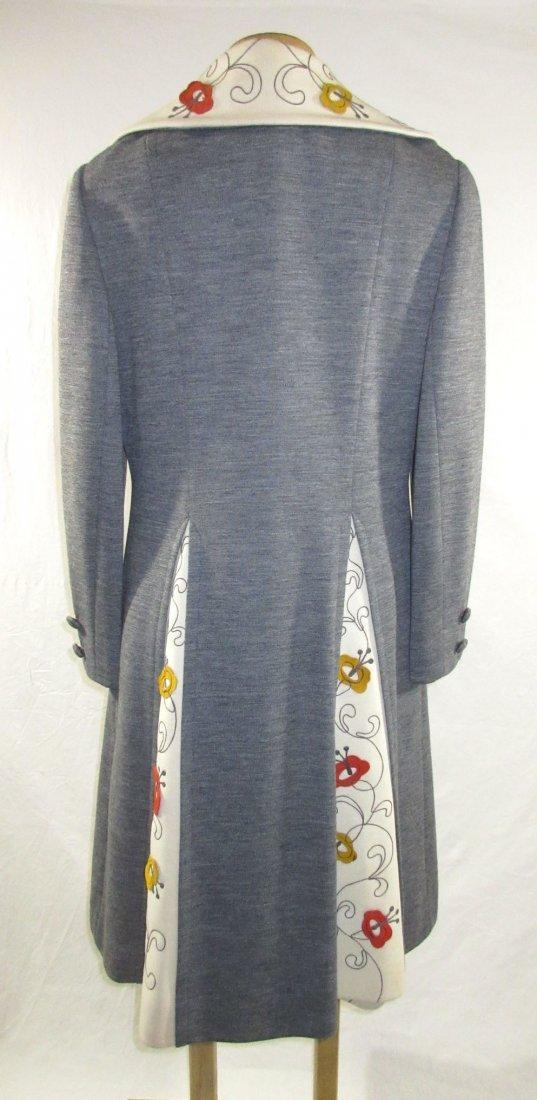 60's Lilli Ann Knits 2pc Coat Dress - 5