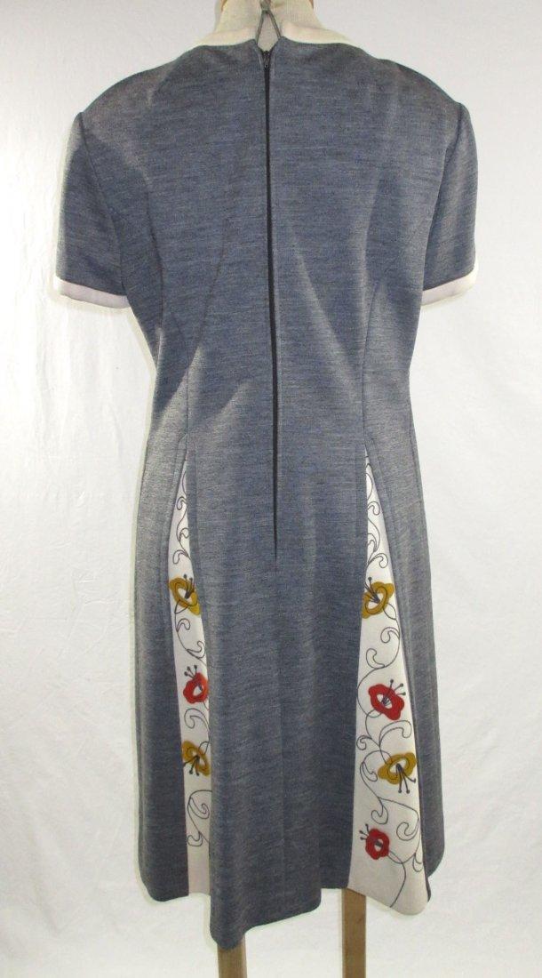60's Lilli Ann Knits 2pc Coat Dress - 8