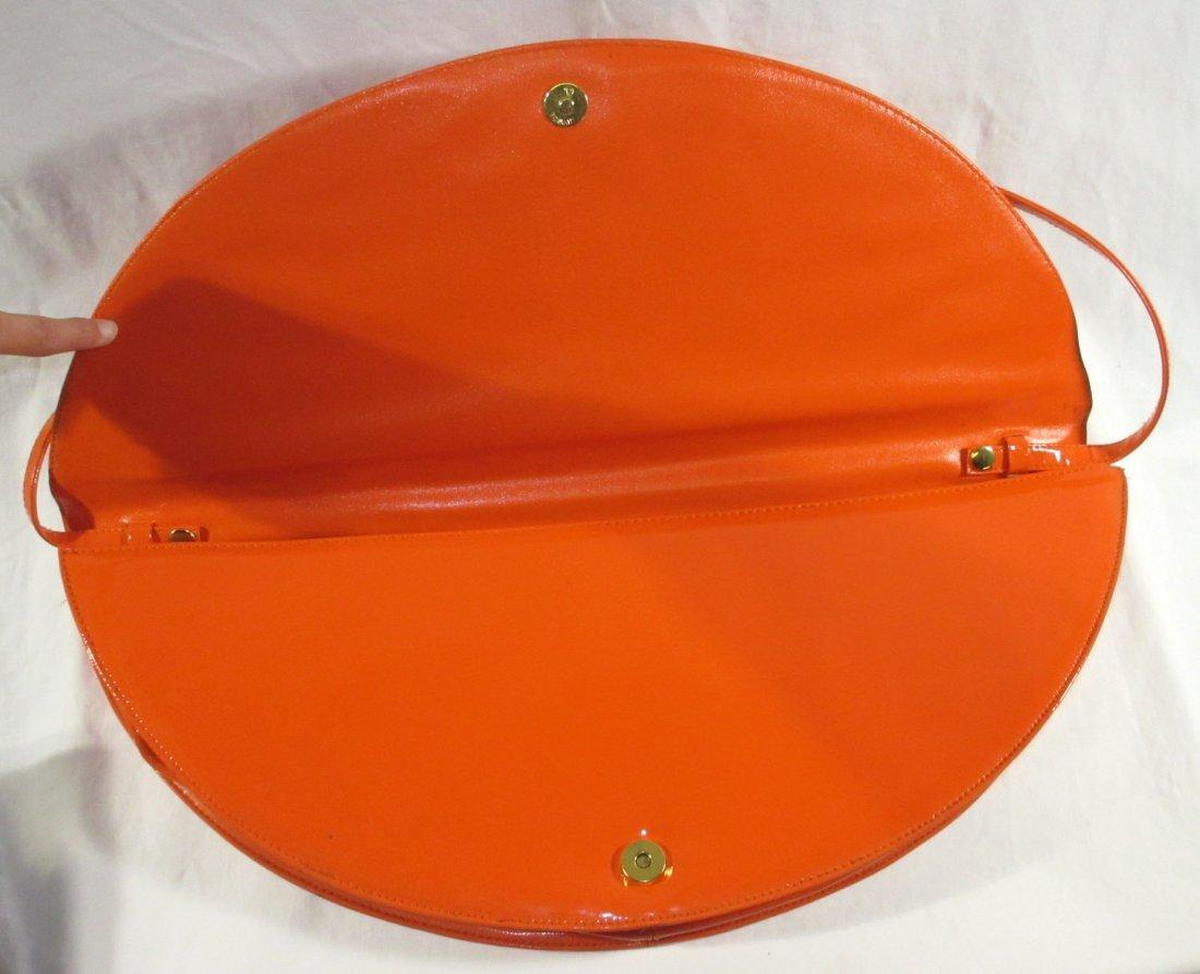 Fabulous Orange Retro Handbag - 2