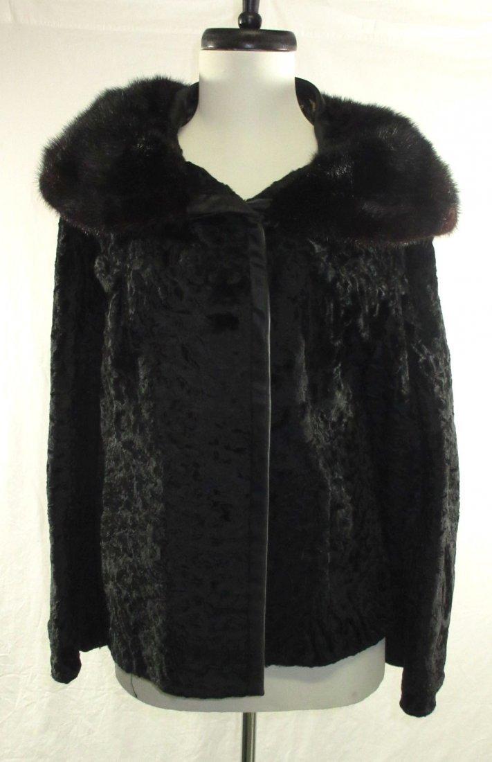 L. Steinbach Furs N.Y. Persian Wool & Mink Jacket - 2