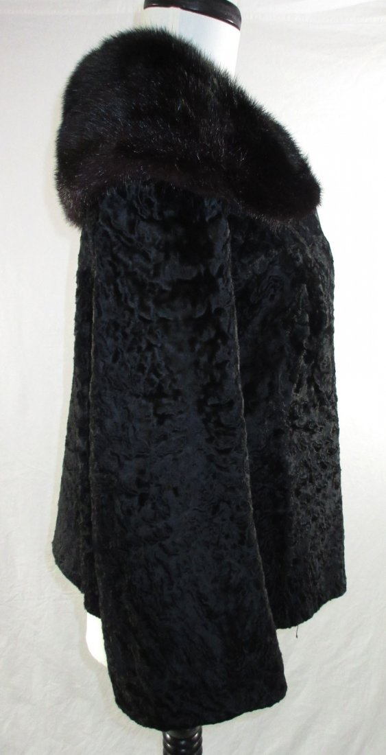 L. Steinbach Furs N.Y. Persian Wool & Mink Jacket - 4