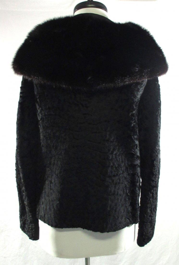 L. Steinbach Furs N.Y. Persian Wool & Mink Jacket - 5