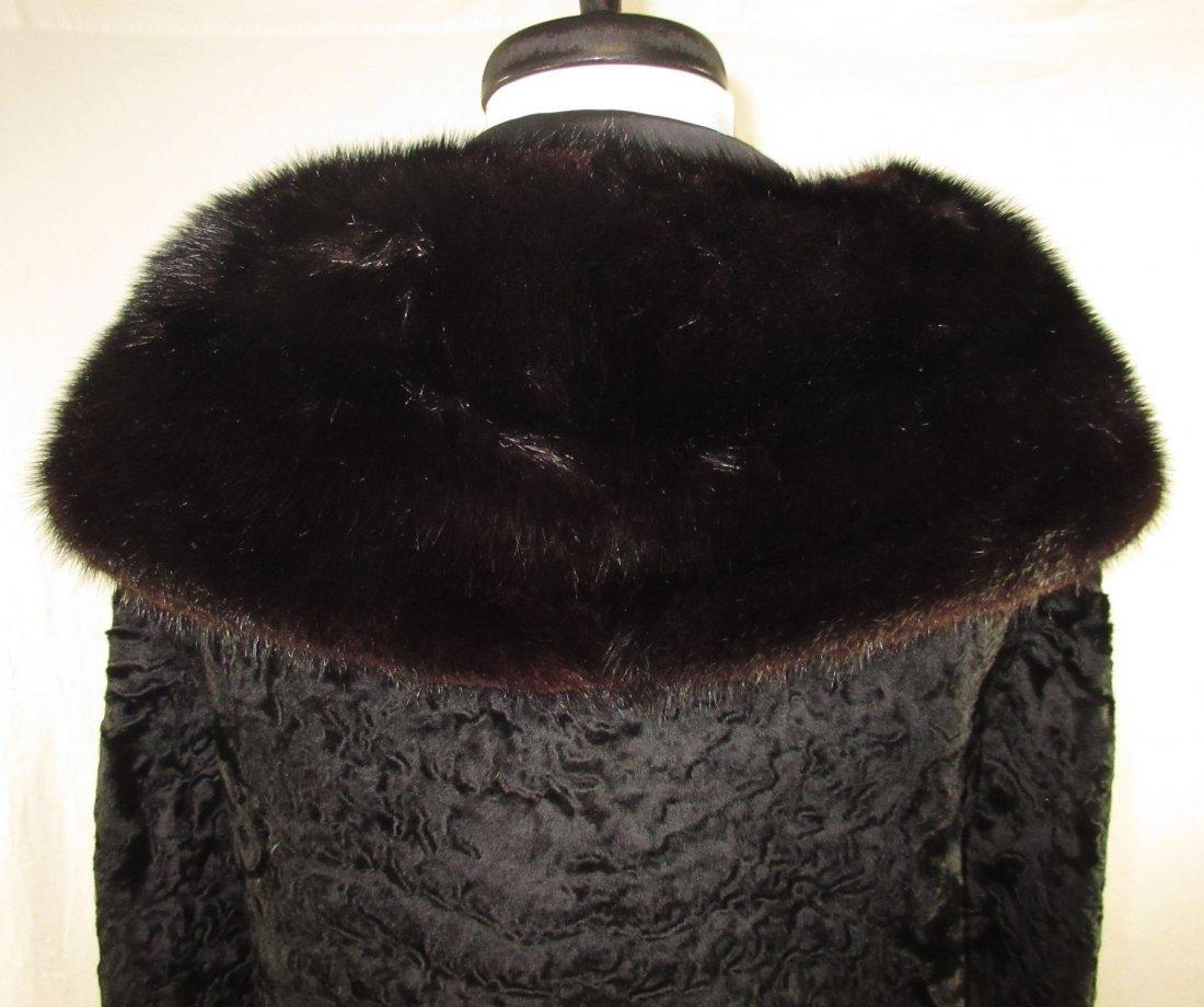L. Steinbach Furs N.Y. Persian Wool & Mink Jacket - 6