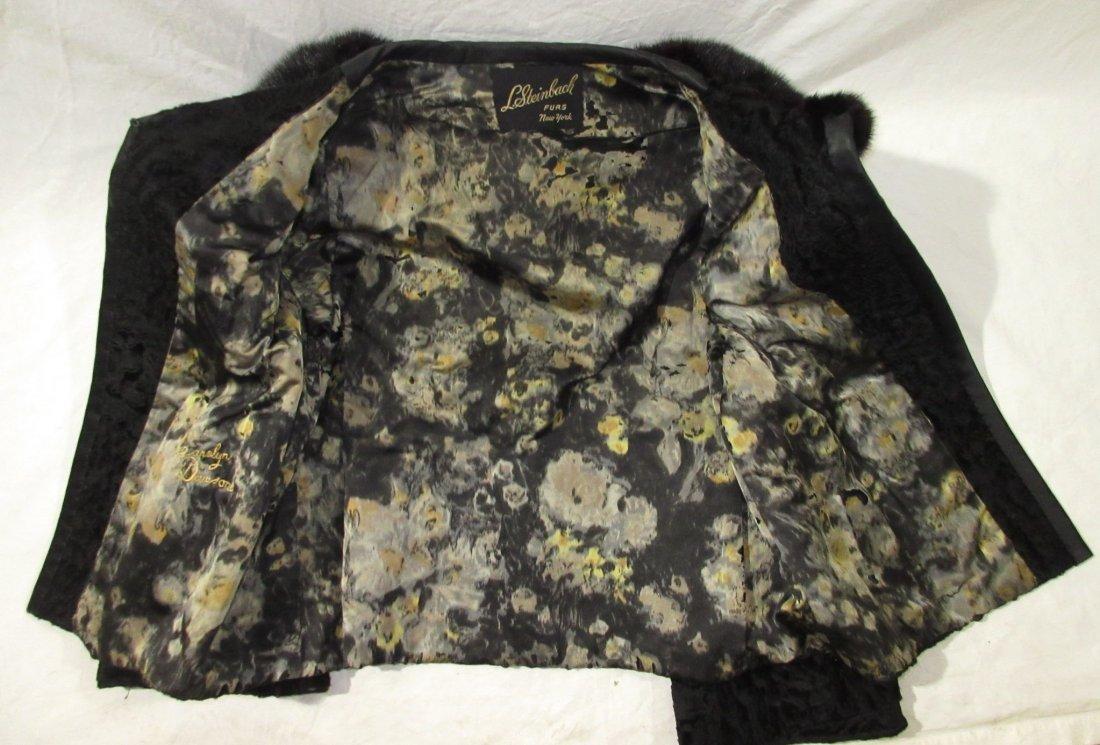 L. Steinbach Furs N.Y. Persian Wool & Mink Jacket - 8
