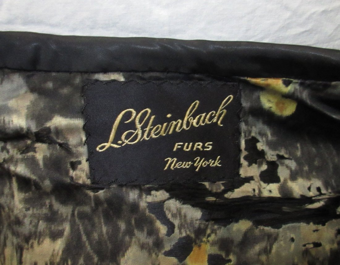 L. Steinbach Furs N.Y. Persian Wool & Mink Jacket - 9
