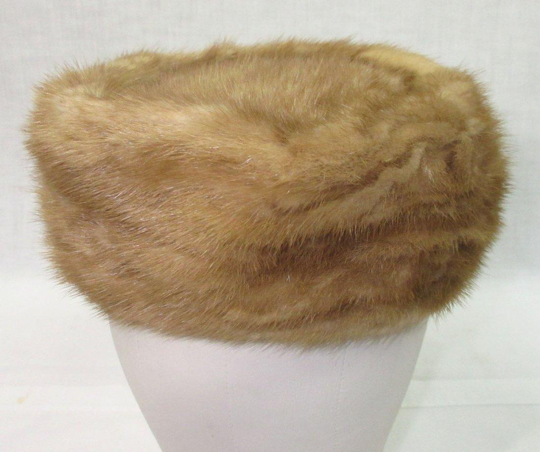 Famous - Barr Mink Pill Box Hat