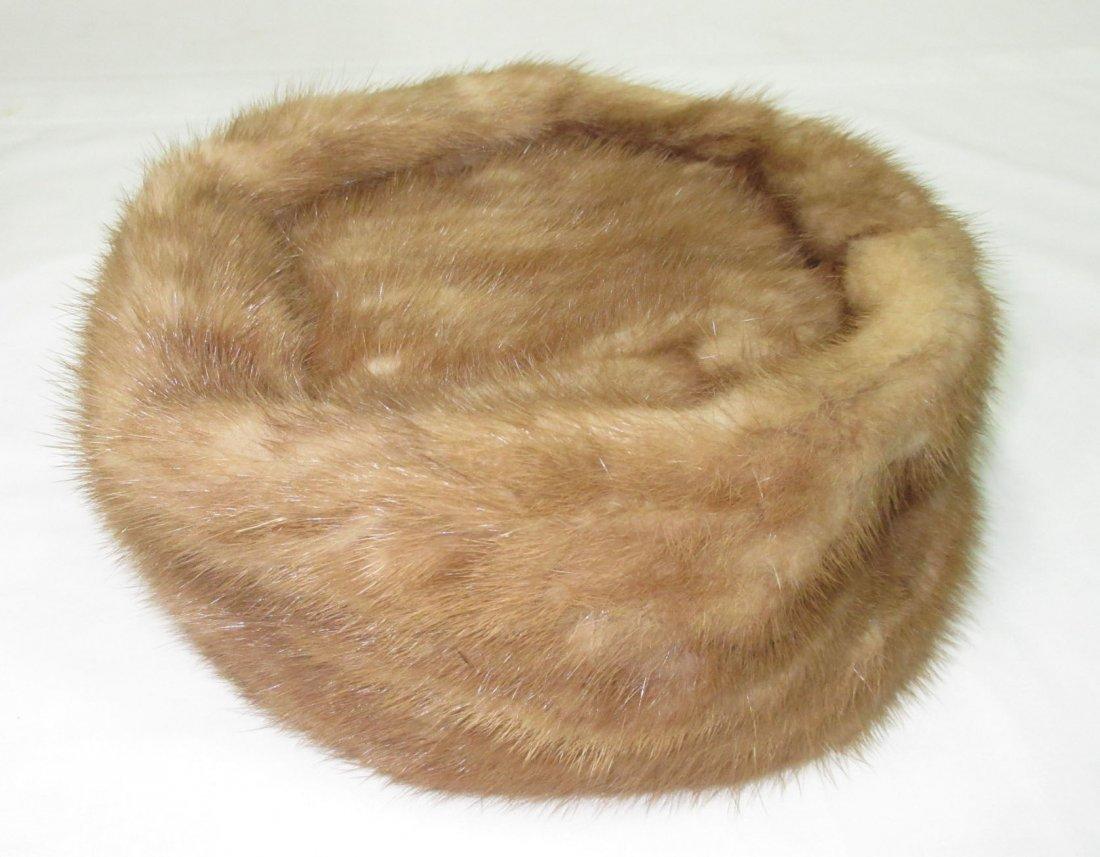 Famous - Barr Mink Pill Box Hat - 2