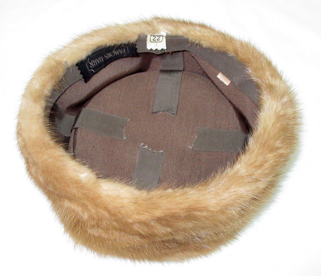 Famous - Barr Mink Pill Box Hat - 3