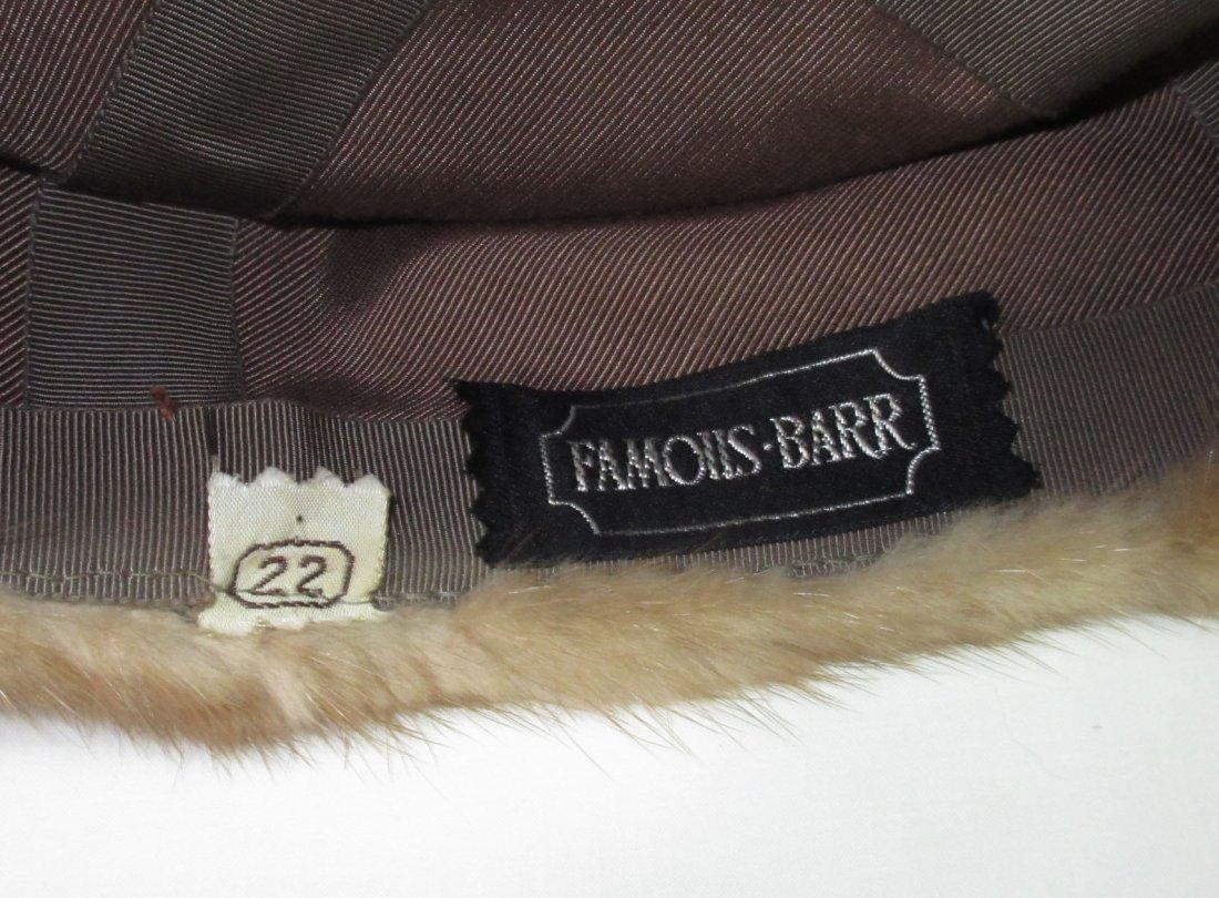 Famous - Barr Mink Pill Box Hat - 4