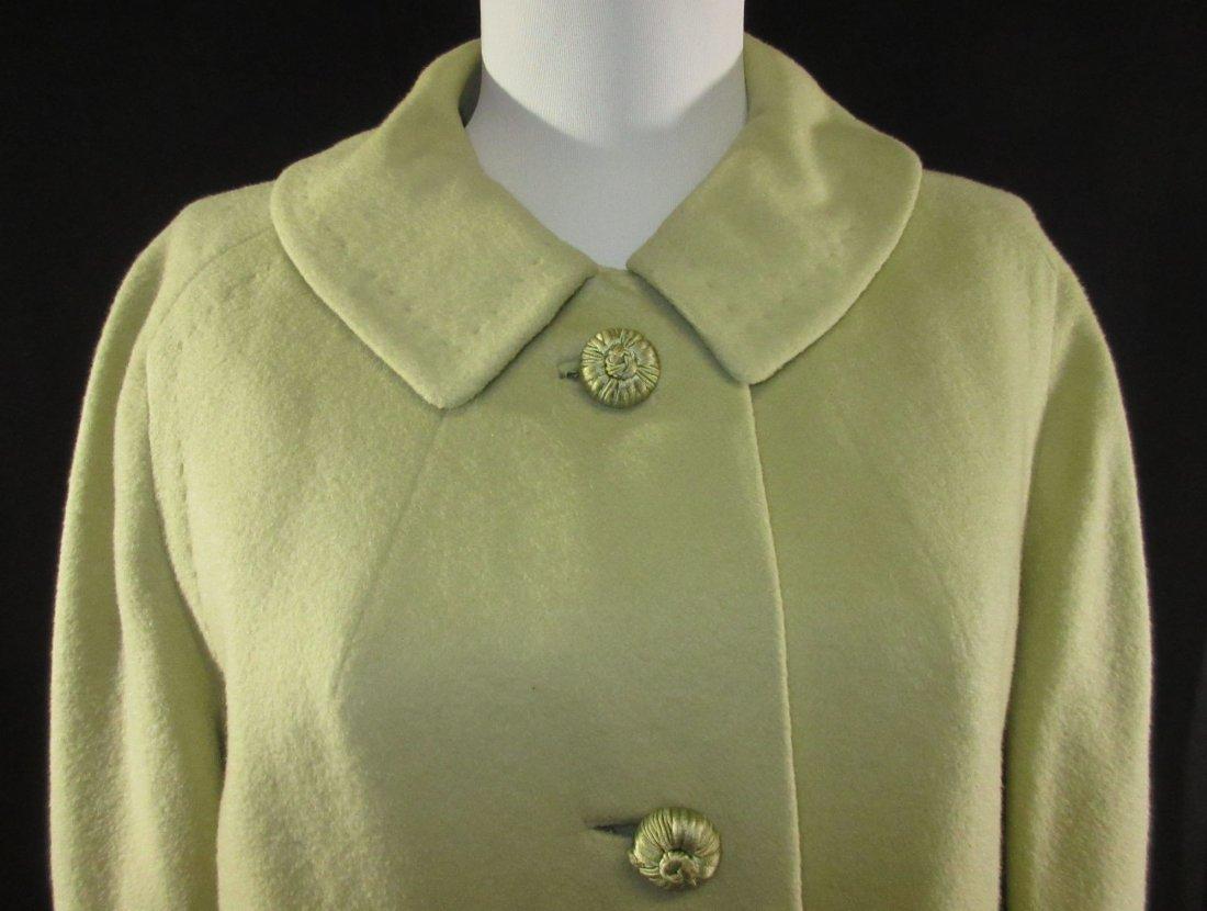 Celadon 1960's Cashmere Famous Barr Coat - 2