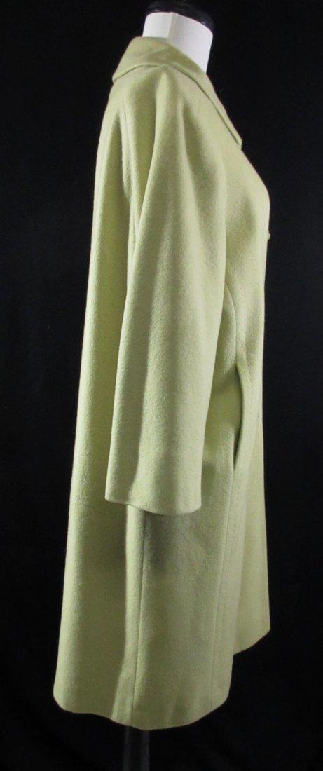 Celadon 1960's Cashmere Famous Barr Coat - 3