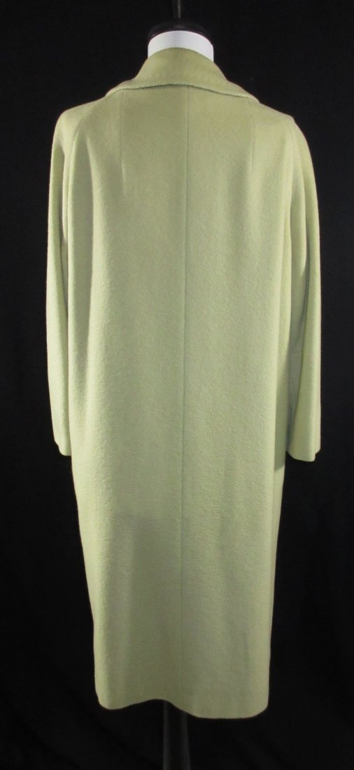 Celadon 1960's Cashmere Famous Barr Coat - 4