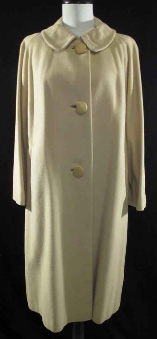 1960's Cashmere Dress Coat